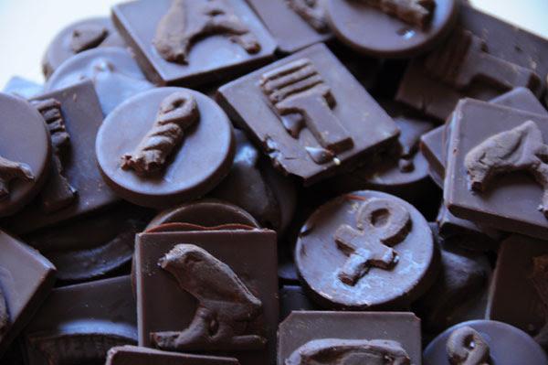 chocolate hieroglyphs