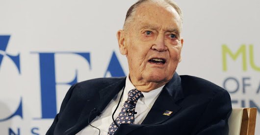 Jack Bogle: What I learned from my biggest investing mistake