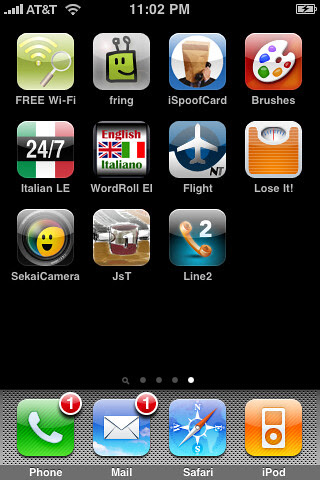 My iPhone Screen Shot