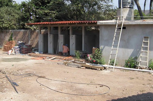 Progress on showers and banos