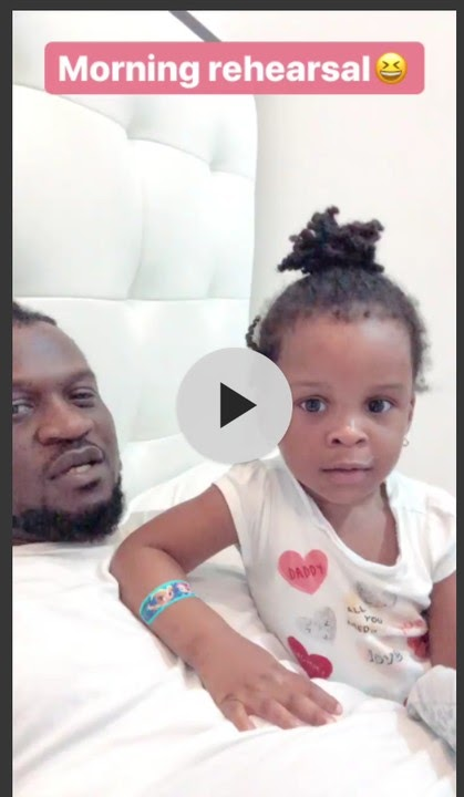 PAUL OKOYE'S VERY YOUNG DAUGHTER RELEASE A NEW HIT MUSIC TODAY: Watch video