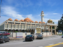 state mosque, ipoh
