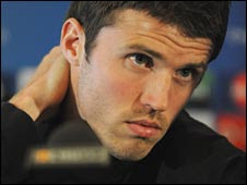 Carrick played in Man Utd's Champions League final defeat against Barcelona