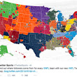 Twitter breaks down NFL fan bases across the country