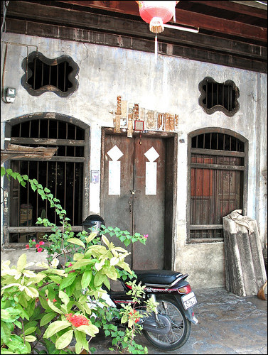 Old house in old Phuket Town