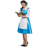 Beauty and the Beast Belle Blue Dress Adult Costume - 48180 - Blue - Large