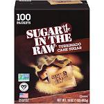 Sugar in the Raw Turbinado Cane Sugar, Packets - 100 packets, 16 oz