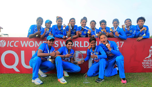 Indian Eves Win ICC World Cup Qualifier Finals