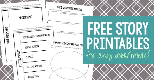Free Story Printables | Creative, Clever and Classy