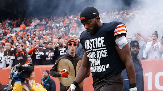 Browns player gives passionate statement after police demand apology