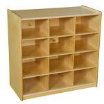 WD 12 Cubby Storage without Trays BA142269