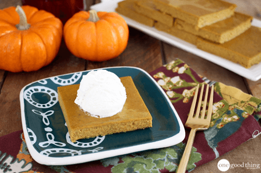 How To Make A Crustless Pumpkin Pie (& Why You'd Want To)