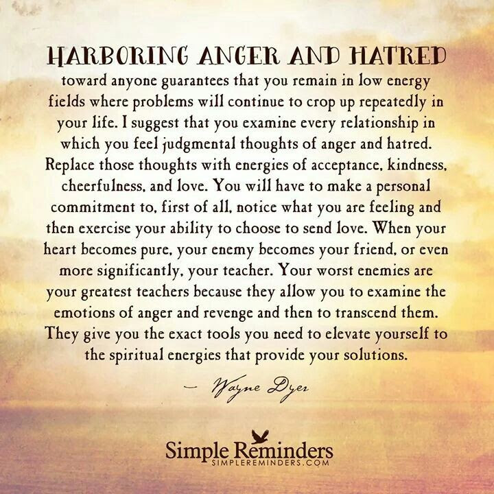 Quotes About Harboring Anger 21 Quotes