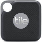 Tile Pro Wireless Security Tag - Graphite/ Jet Black