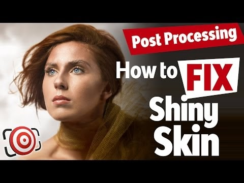 Portrait Retouching Tip: Fix Shiny Skin in Photoshop Lightroom