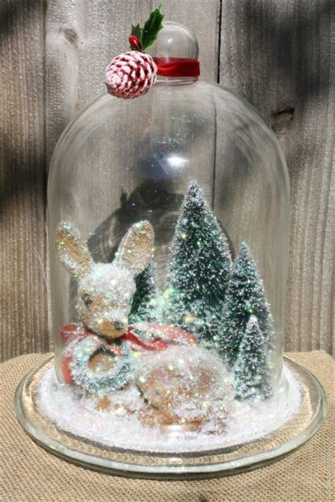 40 Christmas Decorate For The Holidays With Bell Jars