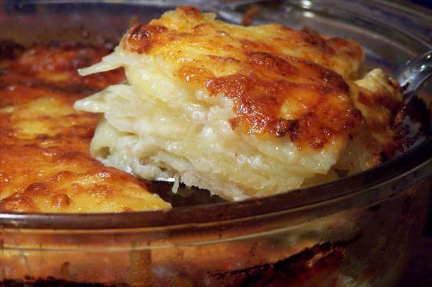 Scalloped Potatoes. Photo by NcMysteryShopper