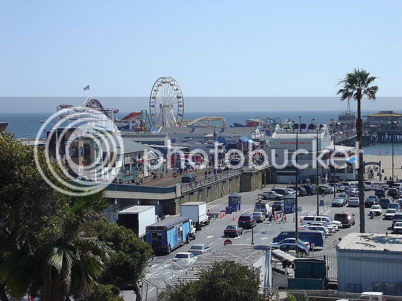 Santa Monica Beach in Southern California