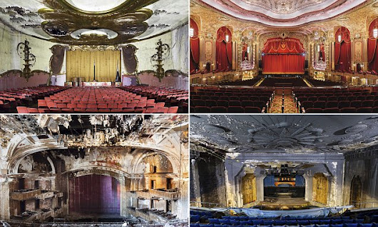 New book reveals how the grandeur of American movie theaters has faded