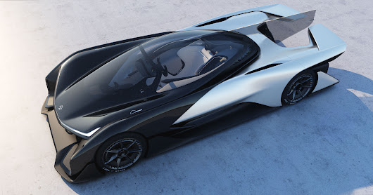 Faraday Future unveils stunning 1,000-horsepower FFZERO1 electric race car concept | ExtremeTech