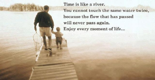 Time Is Like A River Quotespicturescom
