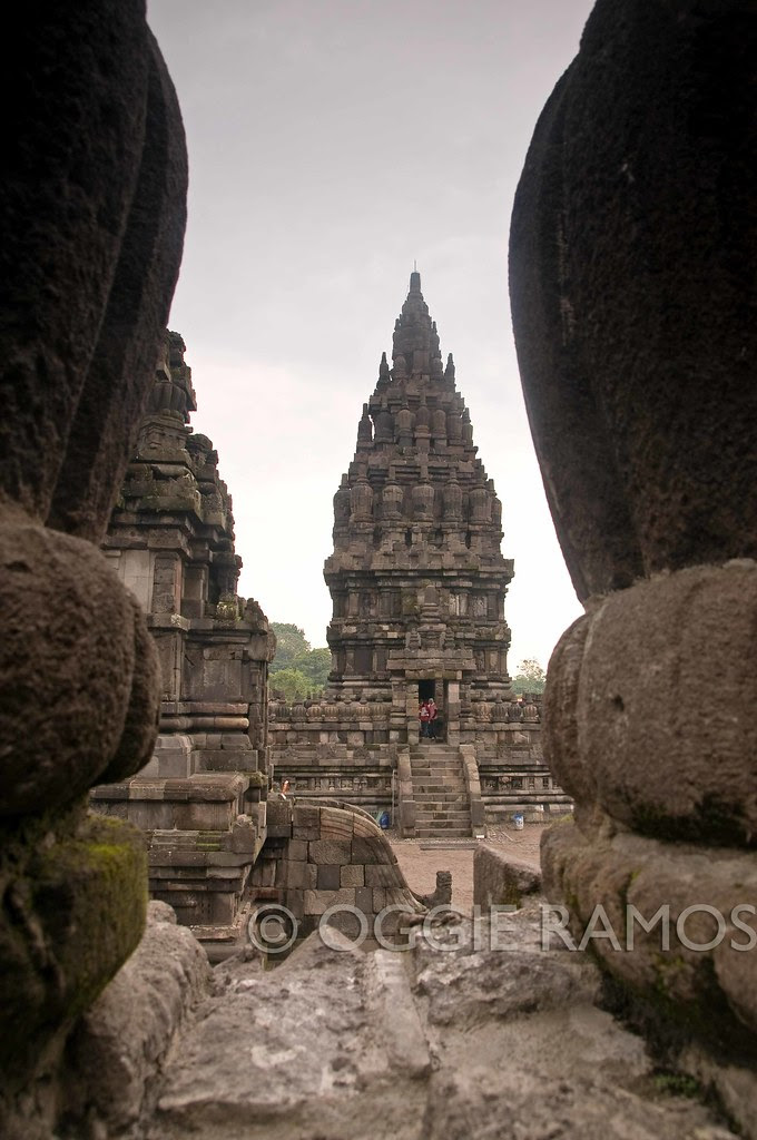Indonesia - Prambanan In Between Pillars II