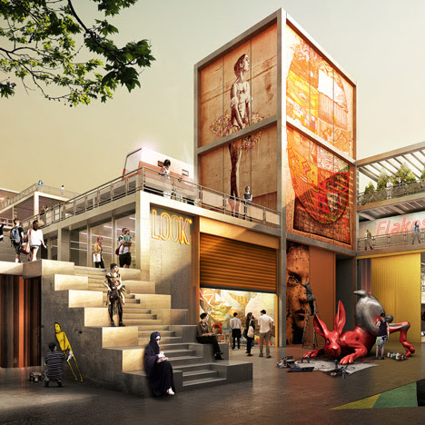 Foster + Partners to build a hipster village in Dubai