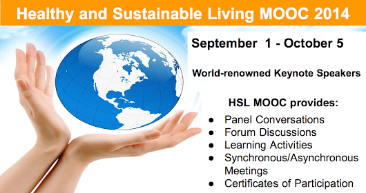 Healthy and Sustainable Living MOOC on WizIQ - Official WizIQ Teach Blog