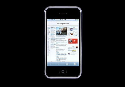 Apple iPhone boosting mobile internet surfing