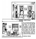 Furniture for the Doll House Vintage Woodworking Plans - fee plans from WoodworkersWorkshop® Online Store - dollhouse furniture,full sized patterns,vintage woodworking plans,old projects,recycled,woodworkers projects,blueprints,drawings,blueprints,how-to-build