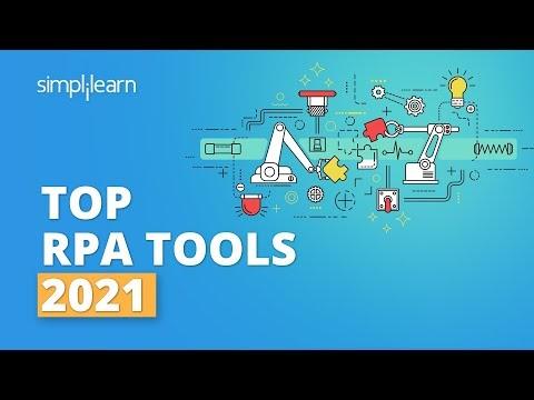 Top RPA Tools 2021 | Popular RPA Tools | Robotic Process Automation Tools | #Shorts | Simplilearn