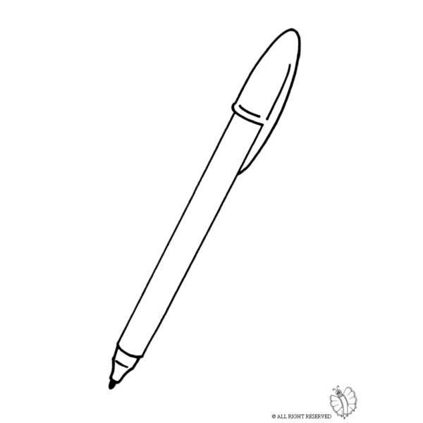 Più Recente Penna Disegno Da Colorare Disegni Da Colorare