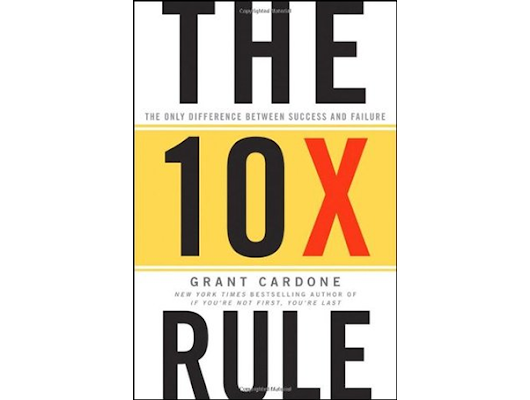 Book Review: The 10X Rule by Grant Cardone - Andrea Azzola