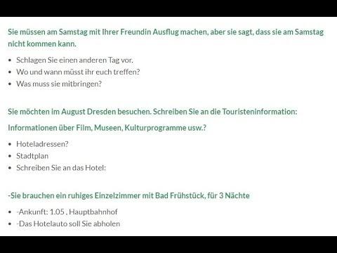 Deutsch Themen A1 Brief Beispiele письма для экзамена а1