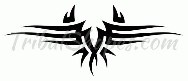 Espalda Baja 31 Diseño Tribal