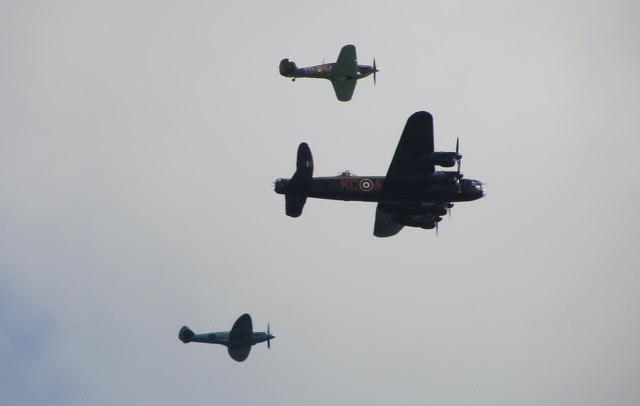 Battle of Britain Memorial Flight - Airbourne 2013