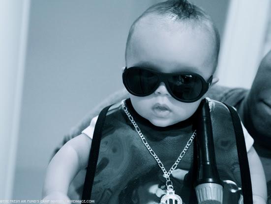 O menino Moroccan, filho de Mariah Carey e Nick Cannon (Foto: Reprodução Dem Babies)