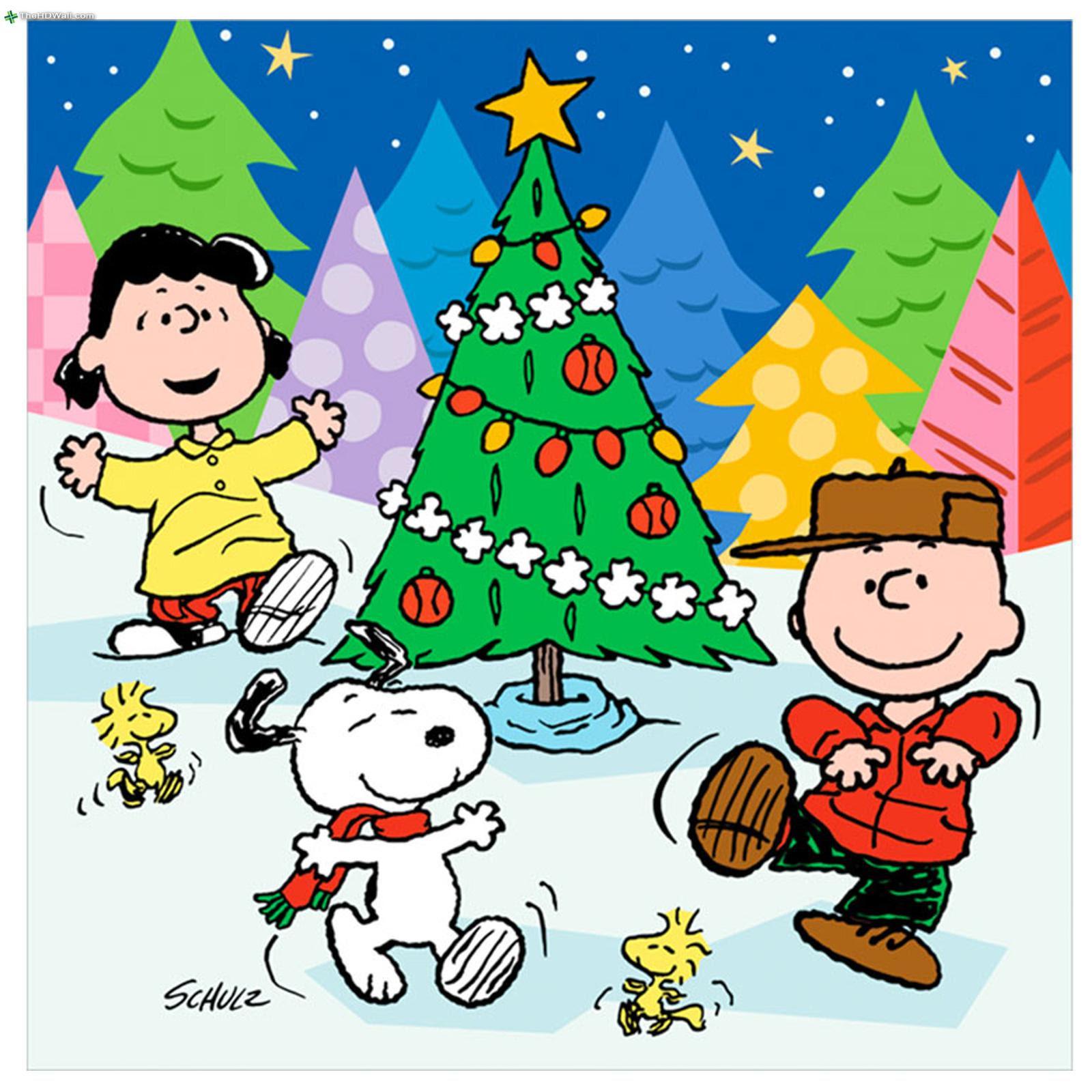 Charlie Brown Peanuts Comics Snoopy Christmas High Resolution