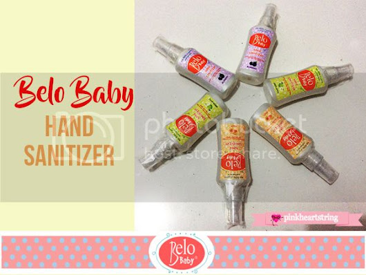 Protect Your Children From Harmful Germs With Belo Baby Hand Sanitizer
