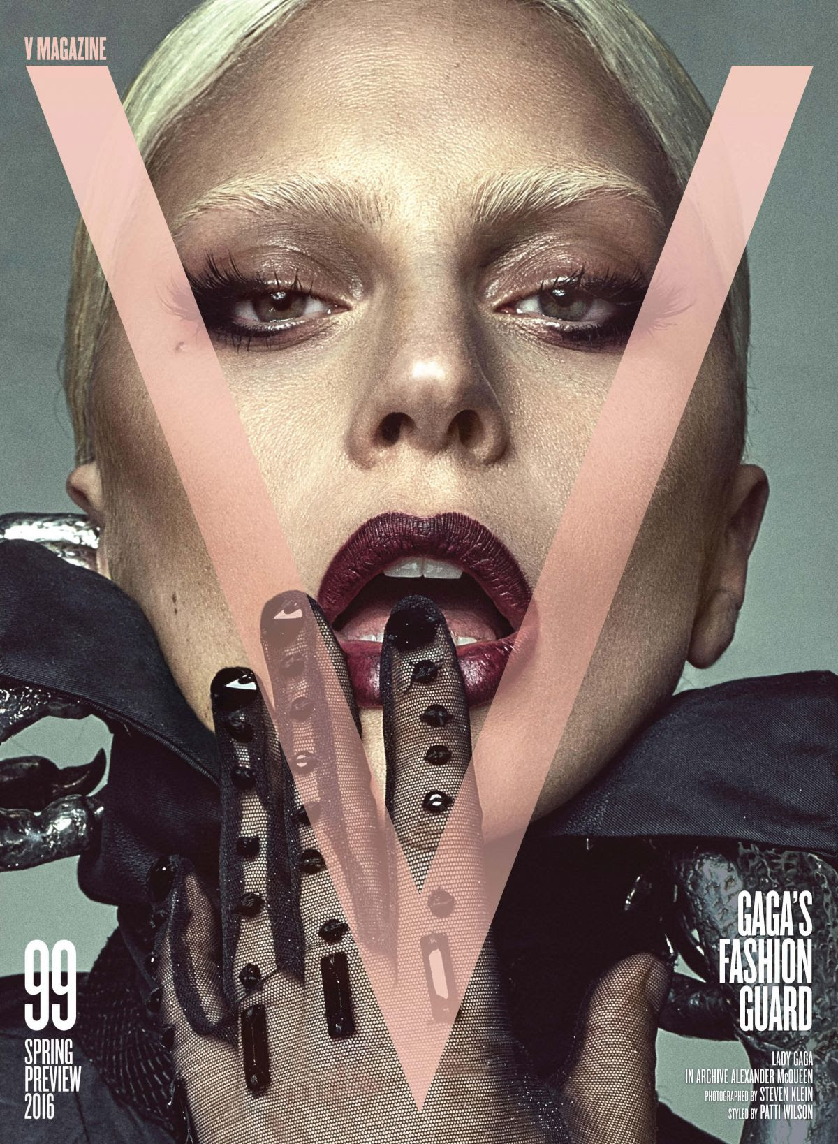 LADY GAGA in V Magazine, Issue #99