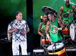 Morre Germano, um dos vocalistas do grupo Olodum (Foto: Reprodução/TVBA)