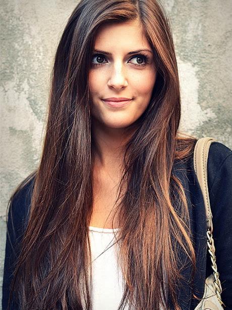 Frisuren Und Farben Fur Lange Haare