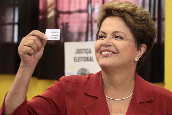 Dilma foi reeleita para mais 4 anos na Presidência da República