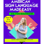 ASL: Learn Deaf Culture History & Coda (dvd)