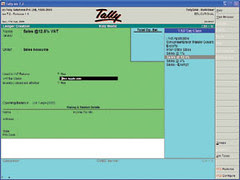 Tally 7.2 Screen