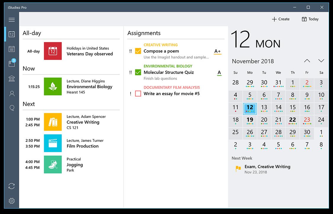 iStudiez Pro for Windows - Best App for Students