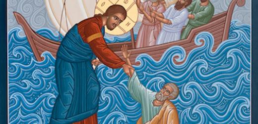 Ο Ιησούς περιπατών επί της θαλάσσης (Ματθ. 14,22-34)