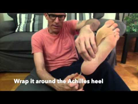 Tapping Method For Plantar Fasciitis