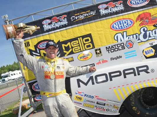 Hagan's Dodge Charger Gets Second-Straight Funny Car Victory | Torque News