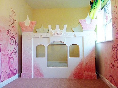 Decoración infantil princesas — Habitaciones Tematicas